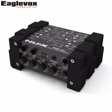 NUX PMX-2U USB I/O Line Mixer USB Audio Interface for Electric Guitar Bass