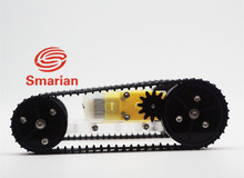 Caterpillar chassis, acrylic car chassis, intelligent car chassis, tracked robot, chassis tracked vehicles
