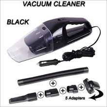 Mini Car Vacuum Cleaner 5M 120W 12V Auto Accessories Portable Handheld Mini Super Suction Wet And Dry Dual Use