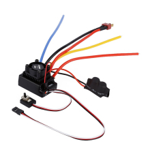 OCDAY 1/10 80A Adjustable Sensored/Sensorless Brushless ESC For Car Truck AO#P(China)