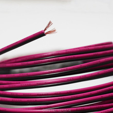 Pure copper 24AWG 2 pin Red Black cable , PVC insulated wire , 24 awg stranded wire Electric cable led cable , electronic wire