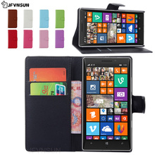 JFVNSUN Case for Microsoft Nokia Lumia 930 NEW Card Slot Wallet Magnetic Leather Flip Cover for Nokia Lumia 930 Stand Phone Bag