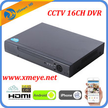 16CH CCTV DVR Recorder With P2P Cloud Easy Remote Access 16 Channel CVBS Cameras DVR Real Time Standalone 1080P HDMI VGA OUTPUT