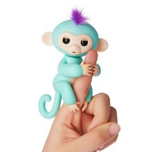Finger Monkey Toy Interactive finger baby monkey Smart Colorful Finger Smart Induction Toys Christmas Gift Kid Finger Toy(China)