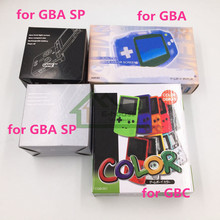 25* (Packing+Manual+Insert) New Packing Boxes for Gameboy for GBA GBC GBA SP Game Console Wholesale Price