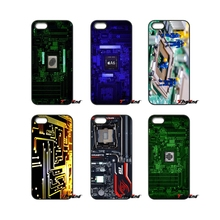 Motherboard computer Print For iPod Touch iPhone 4 4S 5 5S 5C SE 6 6S 7 Plus Samung Galaxy A3 A5 J3 J5 J7 2016 2017 Case Cover(China)
