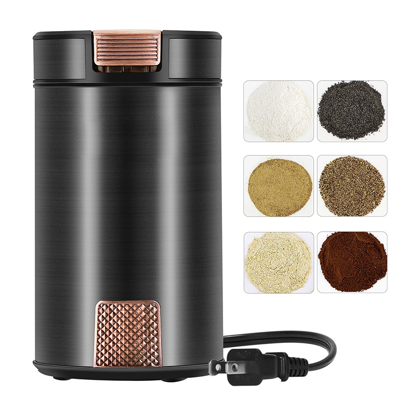 Grinder grinding machine grinding powder electric coffee grinder home household cereals dry wood<br>