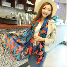 Hot sale design brand winter shawls and scarves luxury brand wool for women bohemia style silk horses scarf woman wool knitted
