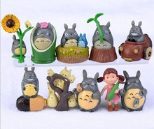 BEST PRICE Toy 10PCS/Set Hayao Miyazaki Totoro Cartoon Anime My Neighbor Totoro Model Toy doll Excellent Gift Action Toys Figure