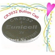 1800pcs per lot CR3032 3V Lithium Button Cell Battery Free shipping