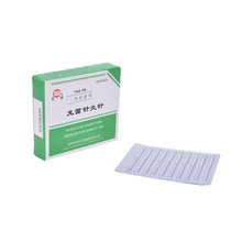 New 100PCS/1Pack Authentic Acupuncture Needles 25mm x0.25mm Stainless Steel Beauty Massage Needle For Health Care(China)