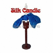 Silk Candle Tied - Stage Magic / Magic Trick, Gimmick, Props(China)