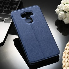 Sands Grain PU Leather Mobile Phone Cases for Asus Zenfone 3 Max ZC553KL Zenfone3 Max 5.5 inch Cover Anti-Knock Smartphone Hood