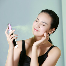 3.7V 1.2W Portable Mini Phone Steam Humidifier Eco-friendly Air Purifier Mist Maker Fogger Beauty Replenishment for Android IOS
