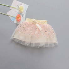 Kids Clothing Summer Spring Baby Girls Lace Rose Tulle Skirt Birthday Party Tutu Skirt(China)