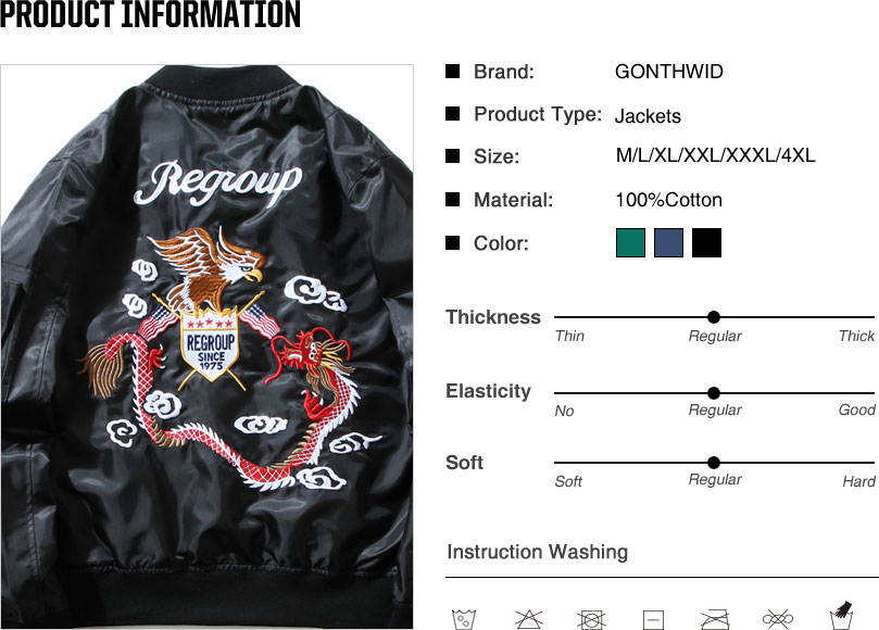 Eagle Dragon MA1 Bomber Jacket