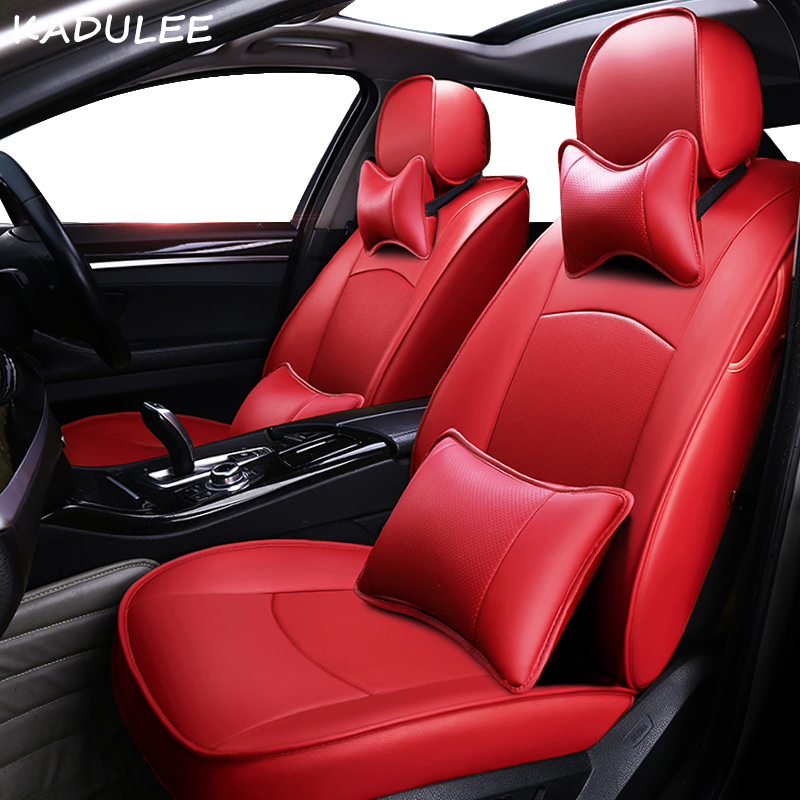 KADULEE real leather car seat cover for nissan qashqai j10 almera n16 note x-trail t31 patrol y61 teana j31 car-styling car seat title=