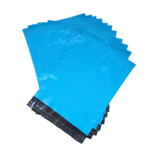 Plastic Mailers Bag Premium Quality Blue Poly Posting Courier Envelope Pouches mailing envelope pouches Express Courier bags(China)