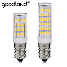 Mini E14 LED Lamp 5W 7W 220V Bombillas LED Light Corn Bulb SMD2835 Crystal Chandelier Pendant Refrigerator Light Replace Halogen(China)