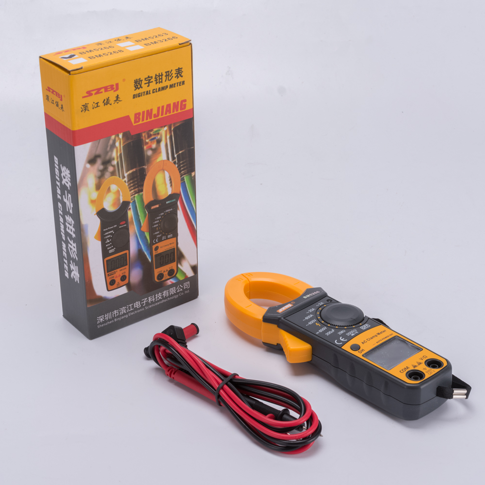 DIGITAL CLAMP METER <br>