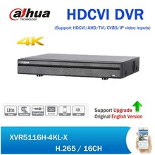 Buy Dahua XVR5116H-4KL-X 16 Channel Penta-brid 4K Mini 1U Security CCTV HCVR Digital Video Recorder support Audio 4K CVI Camera for $232.00 in AliExpress store