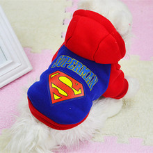 Warm Dog Coats Puppy Clothes for Small Dog Pet Costumes Winter Jacket Hoodies Chihuahua Soft Ropas para Cachorro Black Blue 3