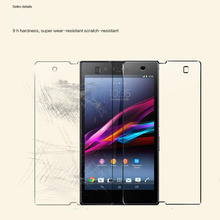 9H Premium Tempered Glass 0.26mm Screen Film For Sony Xperia Z Z1 Z2 Z3 Z4 Compact T2 T3 C3 C4 M2 M4 E4 E3 Aqua S36H S39H