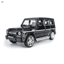 In Stock AMG G65 Diecast Metal Car Toys 1:32 Scale Pull Back Simulation Alloy Cars Acousto-optic Auto Model Collection Cars