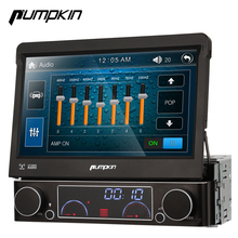 Pumpkin 1 Din Wince 6.0 Car DVD Player GPS Navigation Car Stereo 7 Inch Multimedia Touch Screen Radio Bluetooth Wifi 3G Headunit(China)