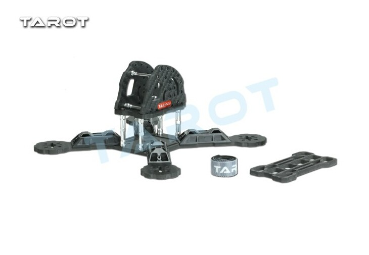 Tarot TL190H2 190mm Carbon Fiber FPV Racing Frame Kit With 4mm Arm For RC Camera Drone Accessories F18893<br>