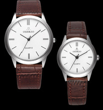 Free shipping fashion lovers watch quartz watch, men and women, men 38 MM, women 28.5 MM(China)