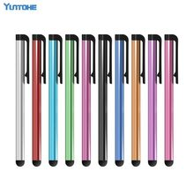 HIGH SENSITIVE STYLUS PEN FOR APPLE Iphone For Samsung HTC And All Mobile With Capacitive Touch Screen 3000pcs/lot(China)