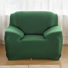 Green Sofa cover flexible Stretch Big Elasticity Couch Sofa Furniture Cover Machine Washable Arm Elastic Chair Slipcover