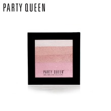 Party Queen Brand Face Contour Cosmetics Blush Palette Blusher Cheek Baking Powder Silky Bronzer Shimmer Brick Set Makeup Eye(China)