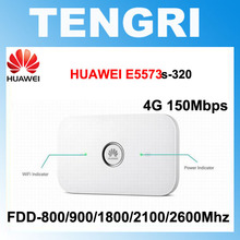 Dual External Antenna Connector Unlocked HUAWEI E5573 E5573s-320 E5573BS-320 150Mbps 4G LTE mobile hotspot Wireless Wifi Router(China)