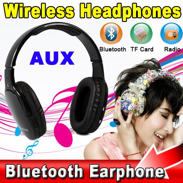 Newest Sports Stereo Bluetooth Headset Wireless Headphone Earphone with Mic Support TF Card FM MP3 for Samsung Ios Phone<br><br>Aliexpress