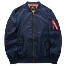 2016 New men 's spring and summer large size men' s jackets Air Force One MA 01 pilots Men Bomber Jacket