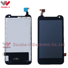 High Quality For HTC Desire 310 D310W Full LCD Display Touch Screen Digitizer Assembly, Black Color For Free Shipping