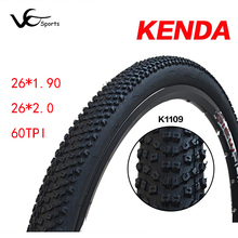 KENDA bicycle tire 26 26*1.90 26*2.0 60TPI casing mountain bike tires 26 MTB 48-559 wire bead bike tyres accessories light 530g