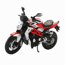 Maisto Die Cast & Alloy Motorcycle Toy 1:12 Scale Simulation Racing Motorbike F4 Brutale 1090RR Model Kids Toys Brinquedos Adult(China)