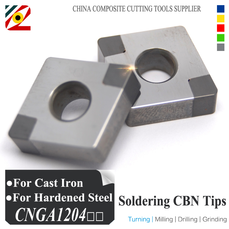 EDGEV Boron Nitride CBN Insert CNGA120404 CNMG120408 or CNGA431 CNMG432 Blade for cutting Hardened Steel and Cast iron Factory<br>