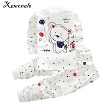 Xemonale Hot Sell Baby Boy Clothes Baby Kids Pajamas Sets Children Cotton Baby Girl Clothing Sets Baby Boy Sets Ropa Bebes Suit(China)
