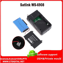 "satlink ws6908 [Genuine] Satlink WS-6908 3.5"" DVB-S FTA digital satellite meter satellite finder ws 6908 free shipping"