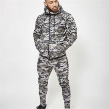 2017 Army Camouflage Pants Casual Skinny Botton Sweatpants Gyms High Street Trousers Pants Men Joggers Slimming pants(China)