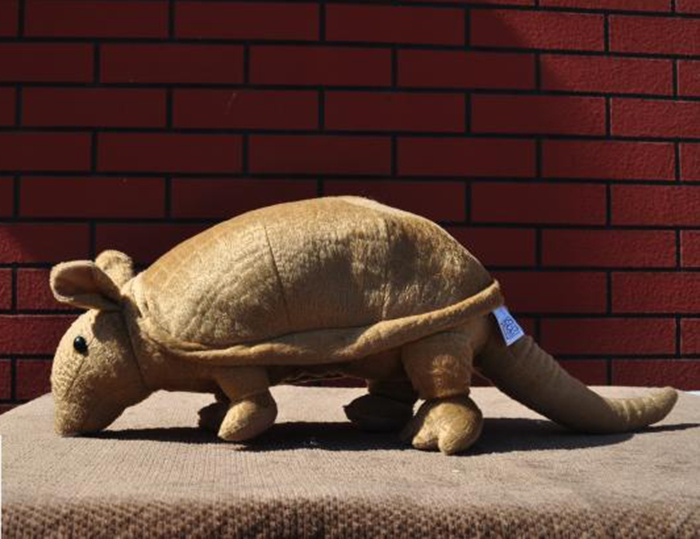 Toys Plush Dolls Simulation   Stuffed Armadillo Rare Animals Toy Gifts  <br>