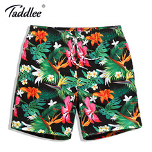 Taddlee Brand Men Board Shorts Swim Beach Boxer Trunks Shorts Quick Drying Men's Swimwear Swimsuits Sports Running Bottoms New(China)