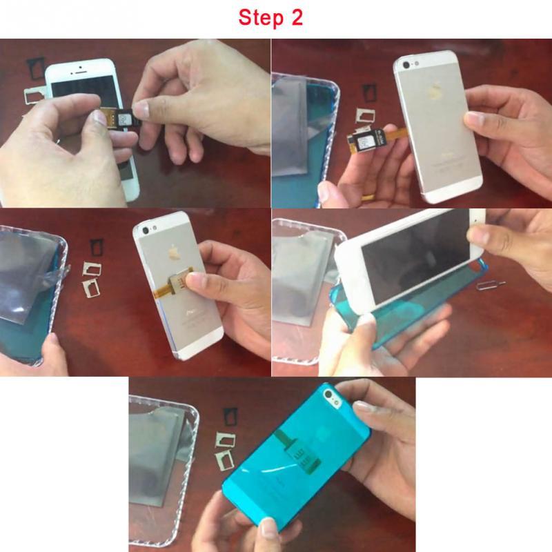 Iphone mode emploi carte sim