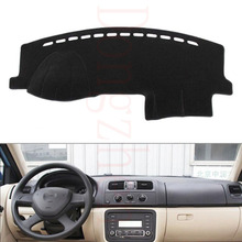 Dongzhen Fit For Skoda Fabia 2008-2014 Car Dashboard Cover Avoid Light Pad Instrument Platform Dash Board Cover