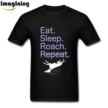 Personalized Man Funny Slogan Greyhound Graphic T Shirts Pure Cotton Camisetas Homme Tee Shirt(China)
