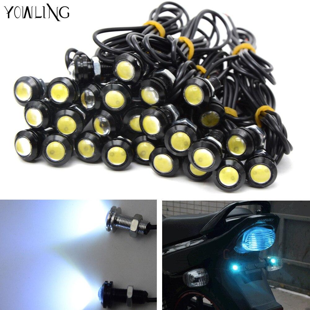 Universal Motorcycle Turn Signal Light 18MM Amber LED SMD Indicator Blinker Flash Bike Lamp For yamaha Kawasaki ktm honda bmw
